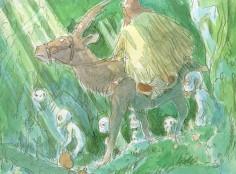 Princess Mononoke by Hayao Miyazaki, 1997
