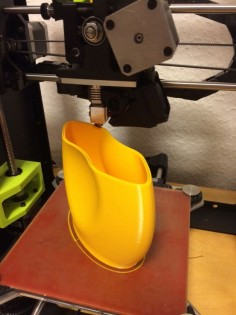 Printing the C-vase. Review of the LulzBot Mini 3D printer. #3dprinter #Lulzbot