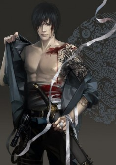QiLing Zhang by *feimo on deviantART