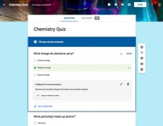 Quizzes in Google Forms