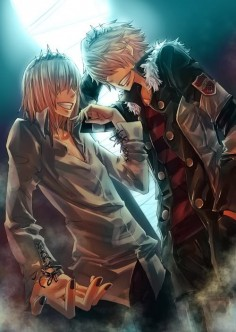 Rasiel and Belphegor #reborn #anime #manga
