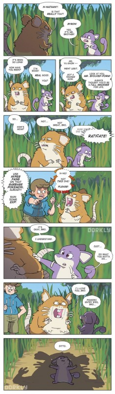 Rattata Family Reunion #Dorkly Comic