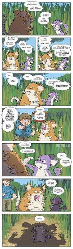 Rattata Family Reunion #Dorkly Comic