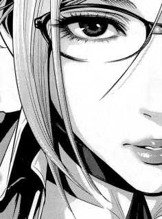 Realistic manga style :3 I've never seen it with these eyes before. They're so beautiful ♥