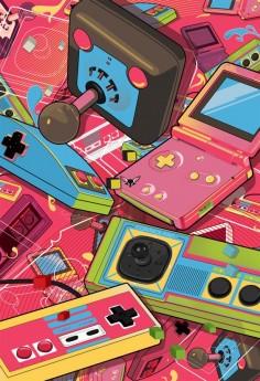 """Retrogaming (a Nintendo SP is """"retro""""?)"""