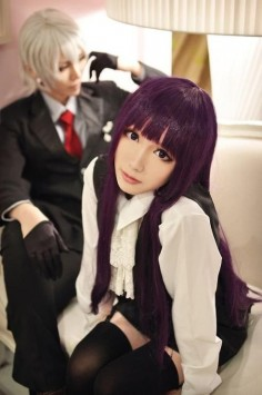 Ririchiyo Shirakiin from Inu x Boku SS Cosplay || anime cosplay