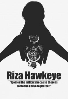 Riza Hawkeye | Fullmetal Alchemist Brotherhood | #FMAB | Anime