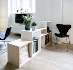 Room separator | 10 Decorating Tips for Small Apartments | Nordic Days