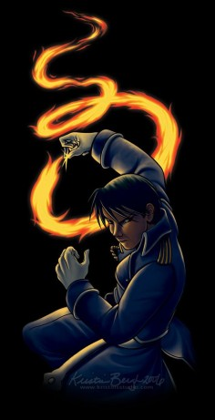 Roy Mustang by KrisCynical on DeviantArt