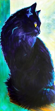 "Saatchi Online Artist: Steve Gamba; Acrylic, 2012, Painting ""Smurphy"" Print"