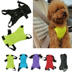 Safety Pet Seat Belt For Car Harness Dog Leash Safety Seat Belt Collar Supplies Products Dog Stuff Pads 3 Sizes