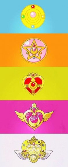 Sailor Moon brooches
