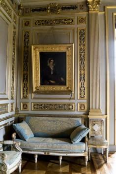 Salon Louvois, Ancy le Franc