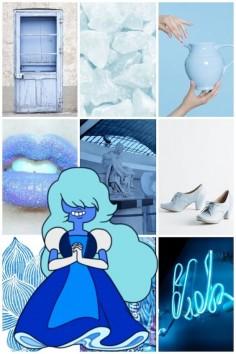 Sapphire aesthetic
