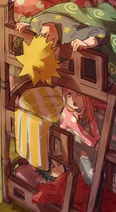 Sasuke, Sakura and Naruto ♥