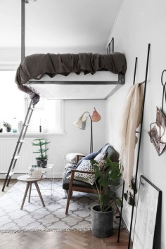 Scandinavian interior design, small spaces