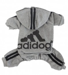 Scheppend Adidog Pet Clothes for Dog Cat Puppy Hoodies Coat Winter Sweatshirt Warm Sweater: Dog Gift, Dog Apparel