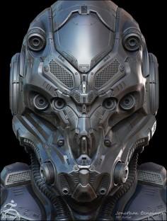 Sci-Fi Helmet | © Jonathan Benainous