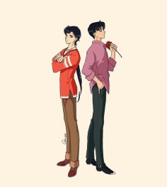 Seiya and Mamoru by Ash