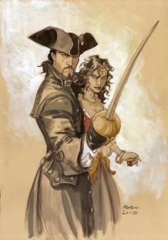 """Série BD de fiction historique """"Le Scorpion"""" créée par Stephan Desberg pour le scénario et dessinée par Enrico Marini.*"""