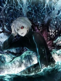 Seriously, I'm finding so many pictures of Tokyo Ghoul with amazing color work! O-o
