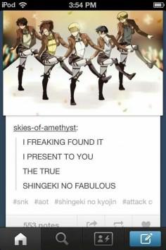 SHINGEKI NO FABULOUS!!