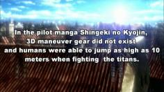 Shingeki no Kyojin facts.