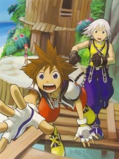 Shiro Amano, Kingdom Hearts, Sora, Riku, Kairi