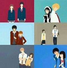 Shoujo animes | Ao haru ride, kaicho wa maid sama, tonari no kaibutsu kun, sukitte ii na yo, ookami shoujo to kuro ouji y kimi ni todoke. Todos son hermosooooos 100% recomendados, tambien los mangas