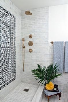 Shower envy. @The Coveteur