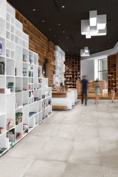 Slovenian Book Center | Architects: SoNo Arhitekti Location: Trieste, Italy | Photographs: © Žiga Lovšin