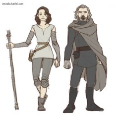 So it looks like Rey and Luke are getting new outfits for part VIII, eh? :)Btw. I've finally created an Instagram account. You can find it here.