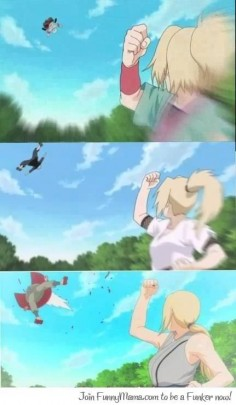 Some things never changes! Tsunade sure loves to punch Jaraiya ♥