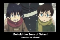 Son's of satan, aren't they just adorable