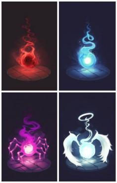 Soul Eater Souls by LoftyAnchor
