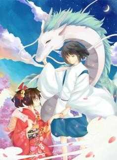 Spirited Away: Chihiro & Haku