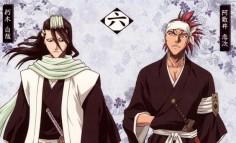 Squad 6: Byakuya Kuchiki and Renji Abarai