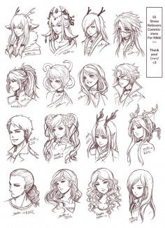 SRC - Batch 3: Nikki's by omocha-san on deviantART ✧ #characterconcepts ✧