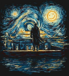 Starry Night: Sherlock BBC by girardin27
