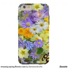 stunning spring flowers case