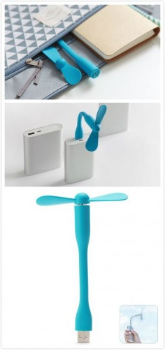 Super Mute USB Fan Detachable Mini Low Power Consumption Fan for Desktop / Computer / Home / Office Supply