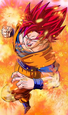 Super Sayian Goku GOD