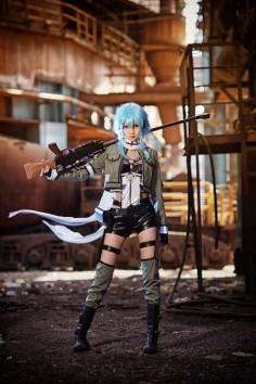 Sword Art Online: Gun Gale Online | Shinon