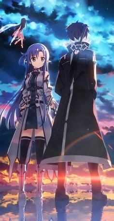 Sword Art Online, Yui, Asuna & Kirito