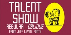 Talent Show JNL font download