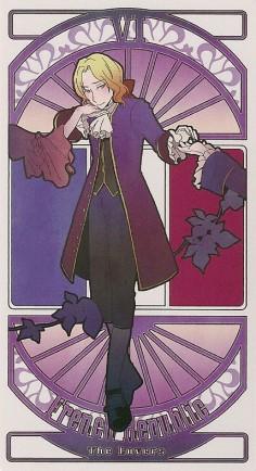 tarot card hetalia
