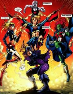 Teen Titan Heroines