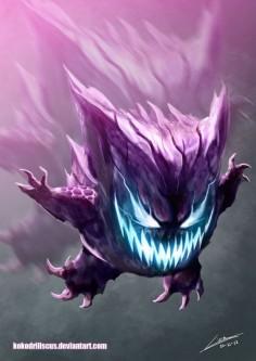 terrorific Gengar
