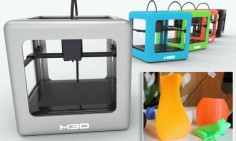 The 3D printer that costs less than an iPhone: £150 device prints food, jewelry and toys at the touch of a button.