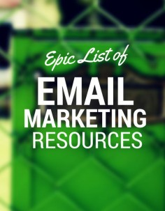 The best articles & resources on many different topics, one being email marketing. Here you can focus on the different elements of email marketing one at a time.